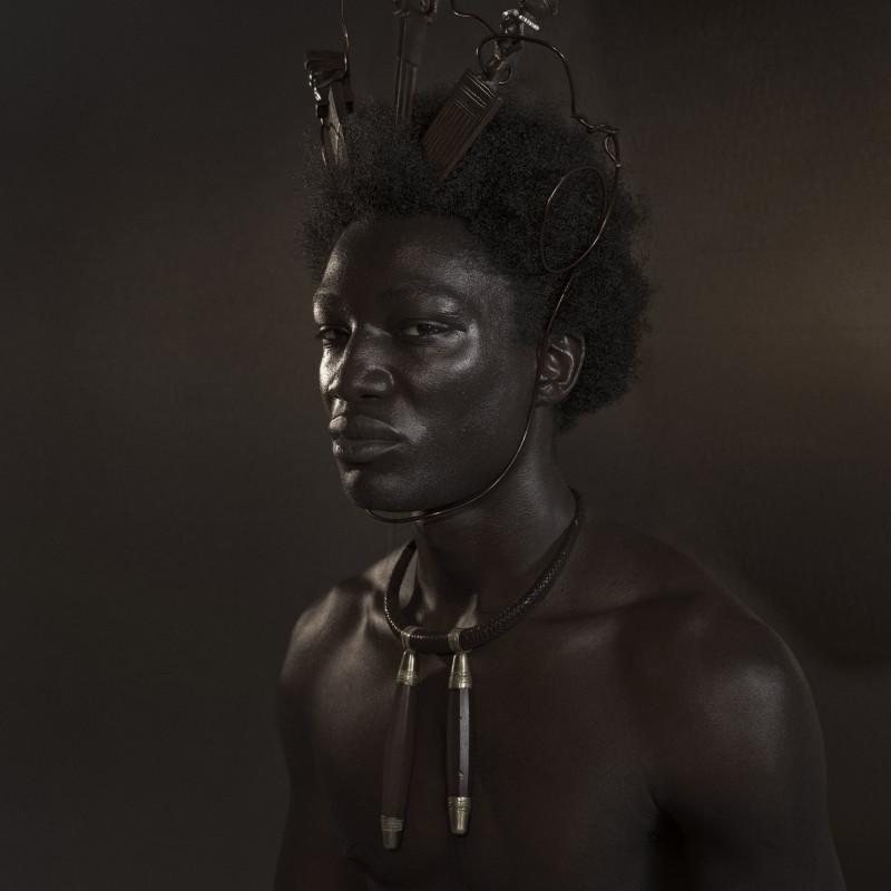 DJENEBA ADUAYOM, BLACK GOLD #1, 2018