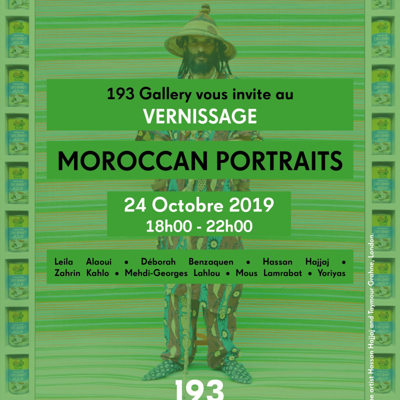 MOROCCAN PORTRAITS AT 193 GALLERY