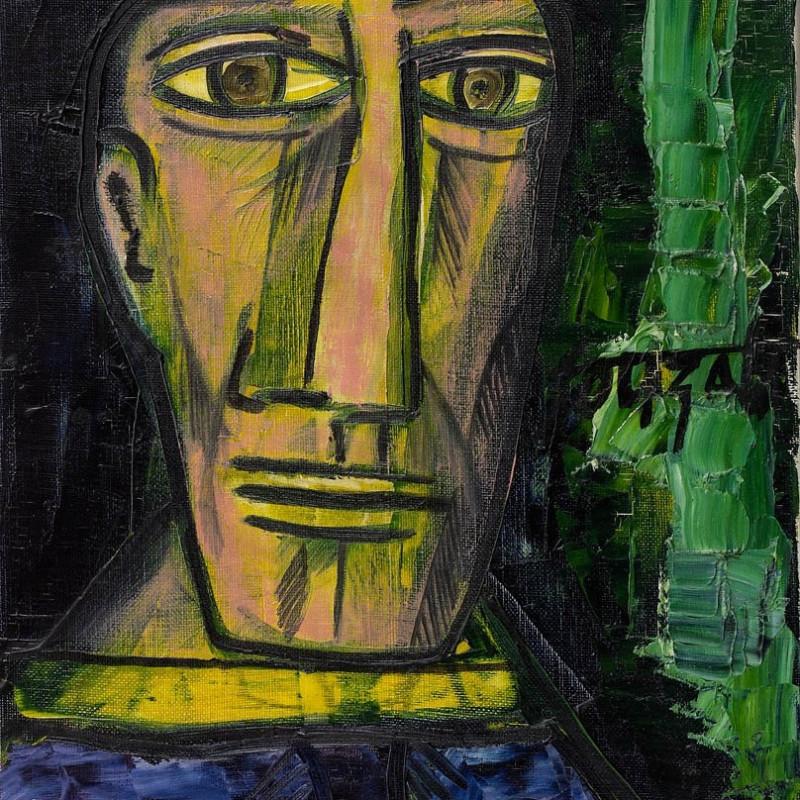 Francis Newton Souza, Portrait of Pablo Picasso