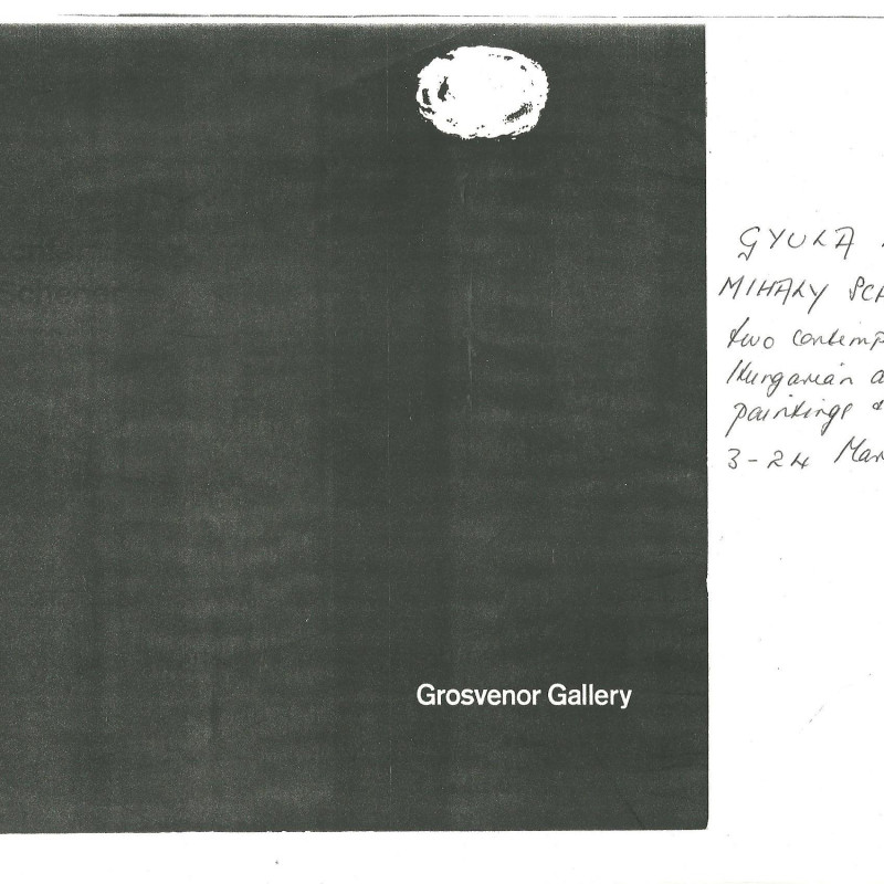 Gyula Konfar & Mihaly Schener, Two contemporary Hungarian artists paintings & drawings