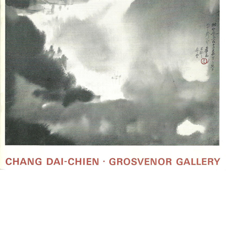 Chang Dai-Chien, Paintings