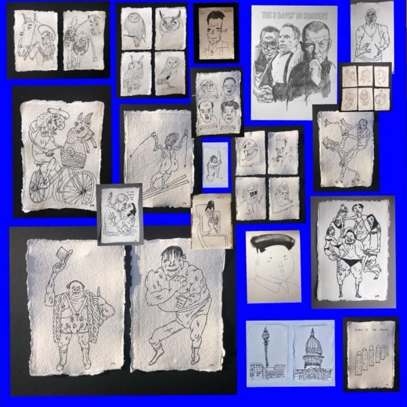 200 Drawings by Jim Moir, aka Vic Reeves