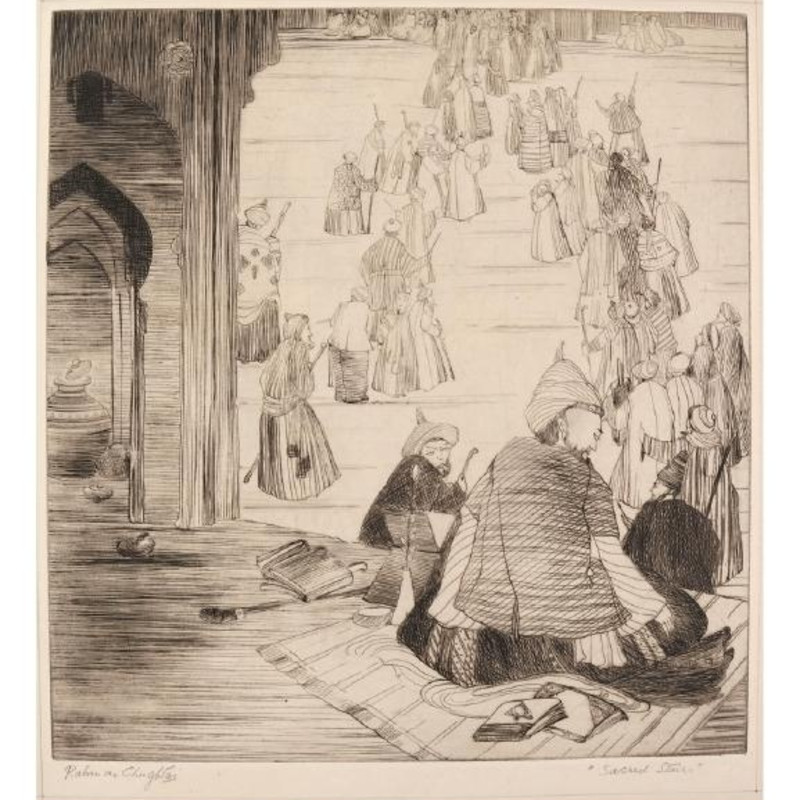 Editions of a Master, Etchings by Abdur Rahman Chughtai