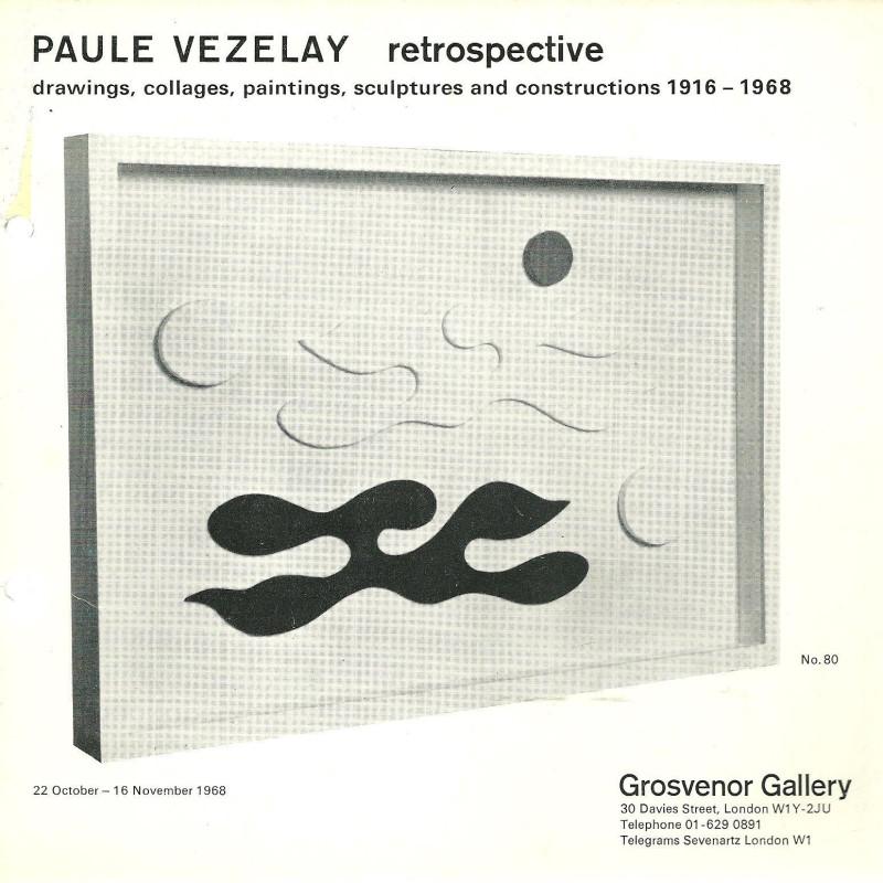Retrospective by Paule Vezelay