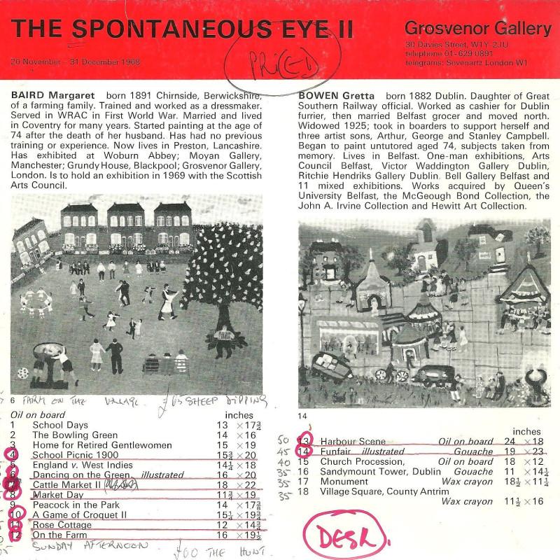 The Spontaneous Eye II