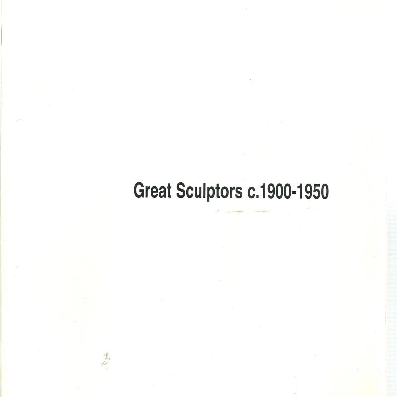 Great Sculptors