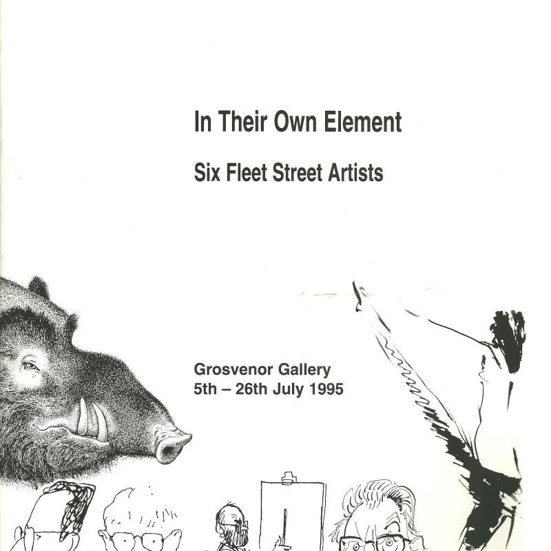 In Their Own Element, Six Fleet Street Artists