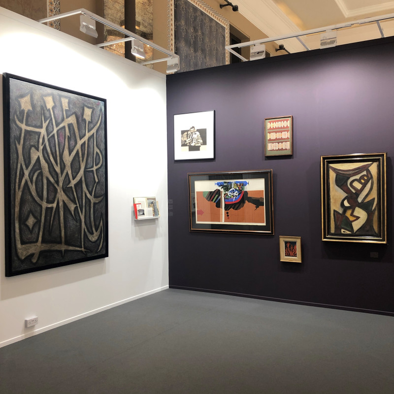 Art Dubai Modern, L'Abstraction Calligraphique dans l'Ecole de Paris