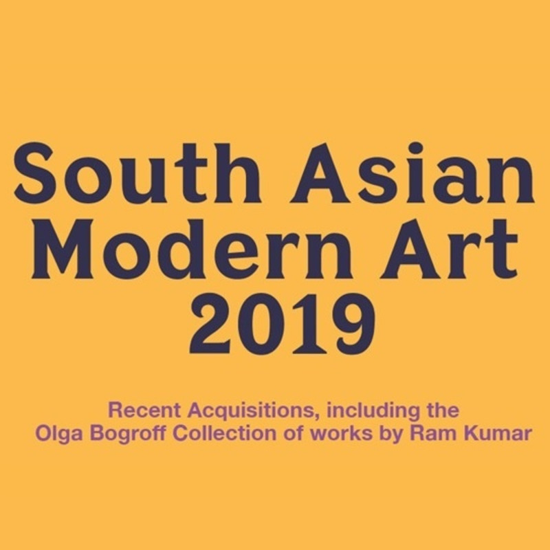 South Asian Modern Art, 2019, Including the Olga Bogroff Collection of works by Ram Kumar