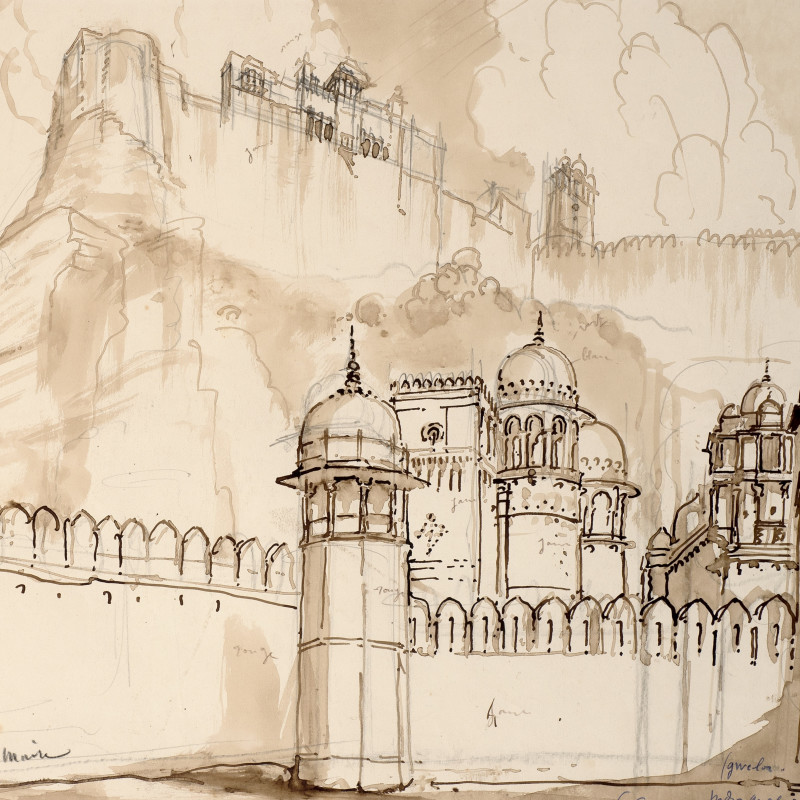 Andre Maire, Gwalior Fort, c.1932