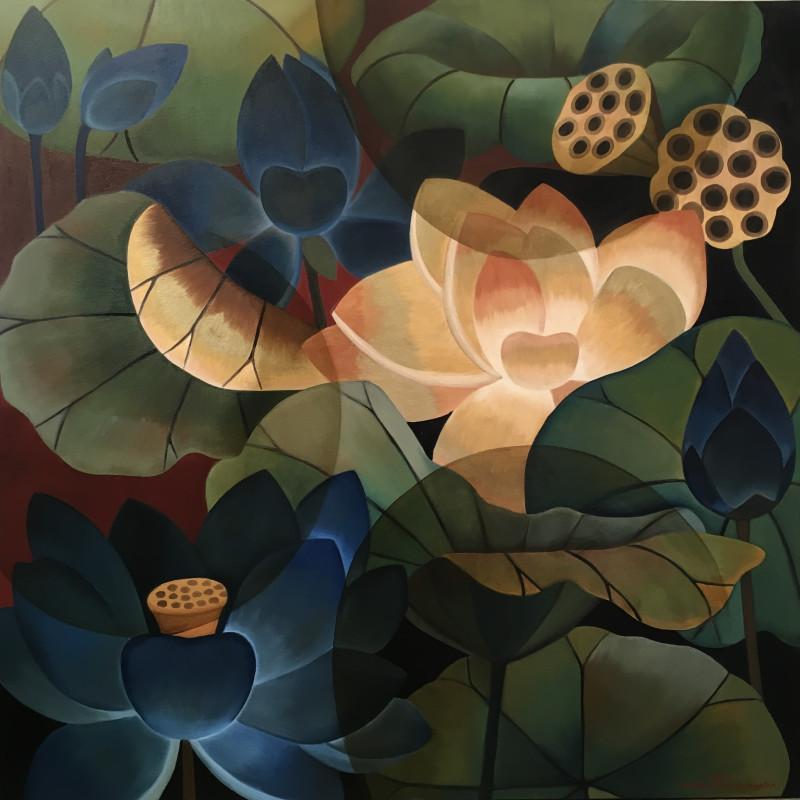 Abu Dhabi Art, New paintings by Olivia Fraser & Senaka Senanayake