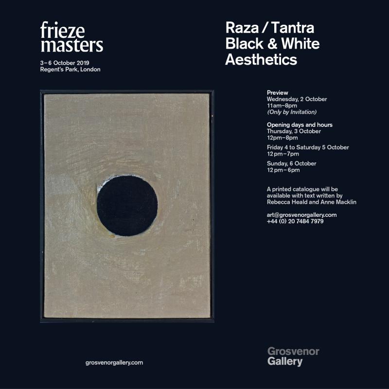 RAZA / TANTRA: Black & White Aesthetics, Frieze Masters