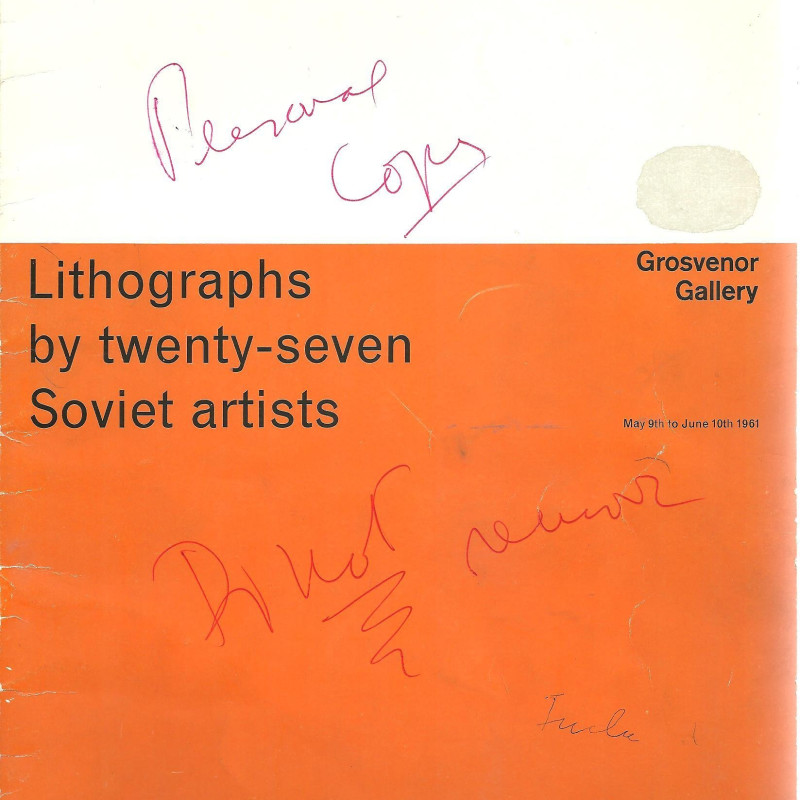 Lithographs by Twenty-Seven Soviet artists