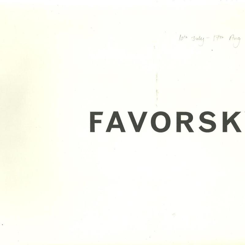 Vladimir Favorsky