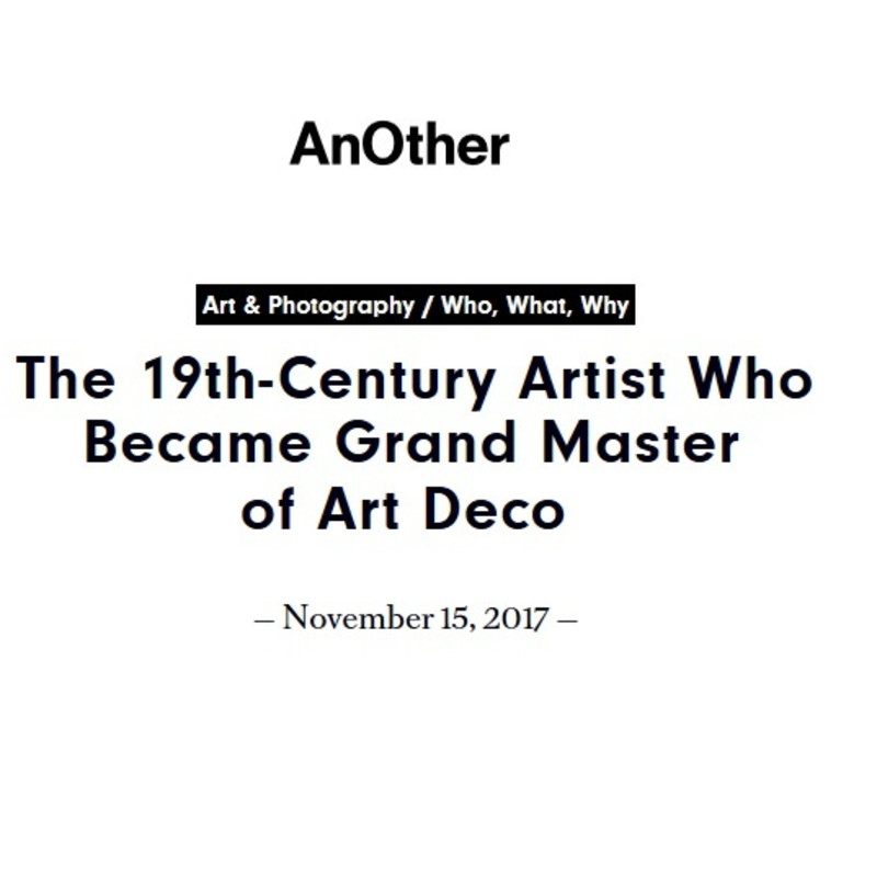 Erte, Master of Art Deco, a review by AnOther