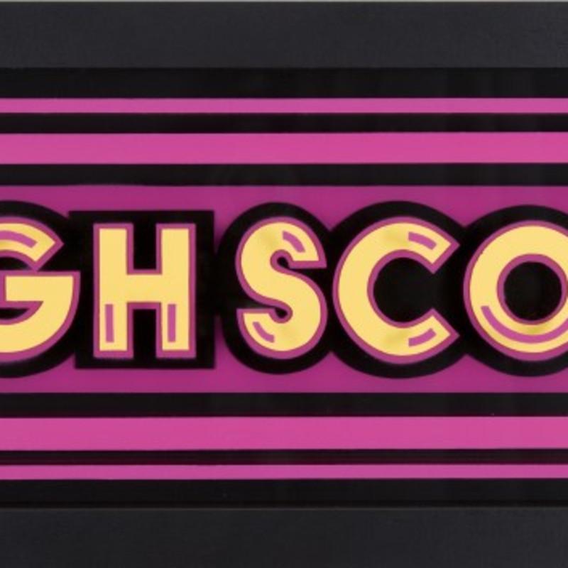 Static: Highscore- Yellow & Pink