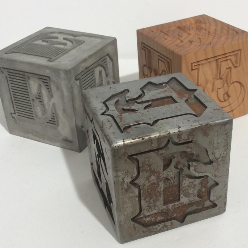 Ben Eine - Cubes
