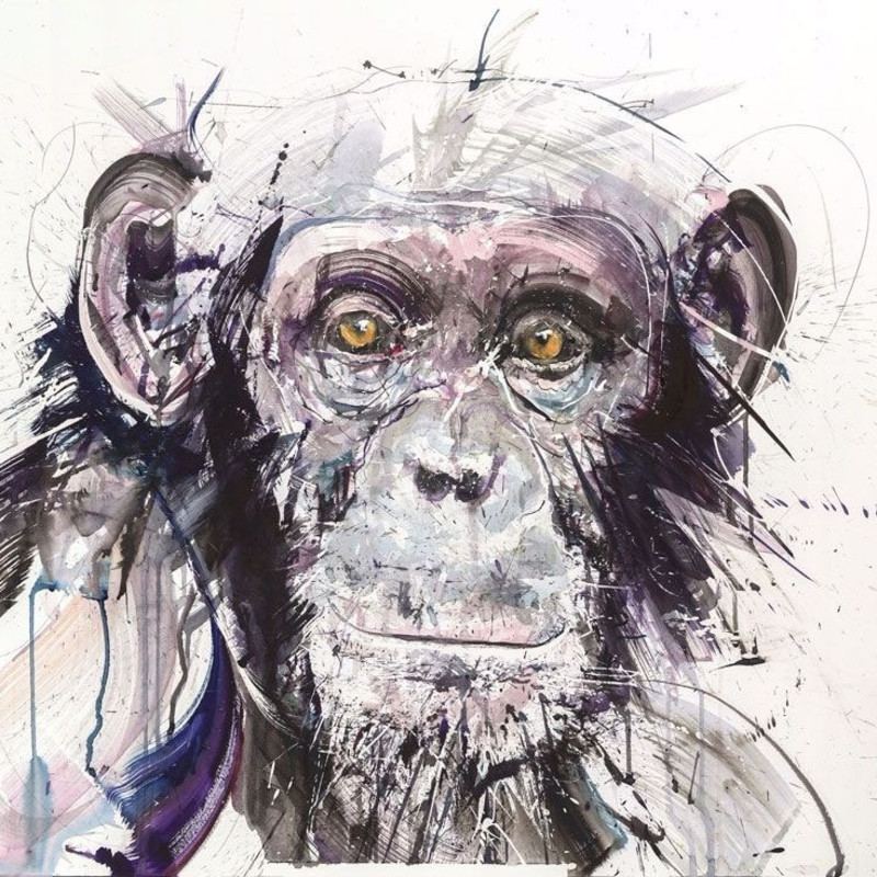 Dave White, Chimp I, 2017