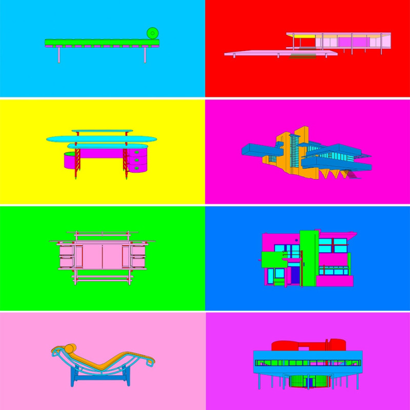 Michael Craig-Martin, Design and Architecture, 2017
