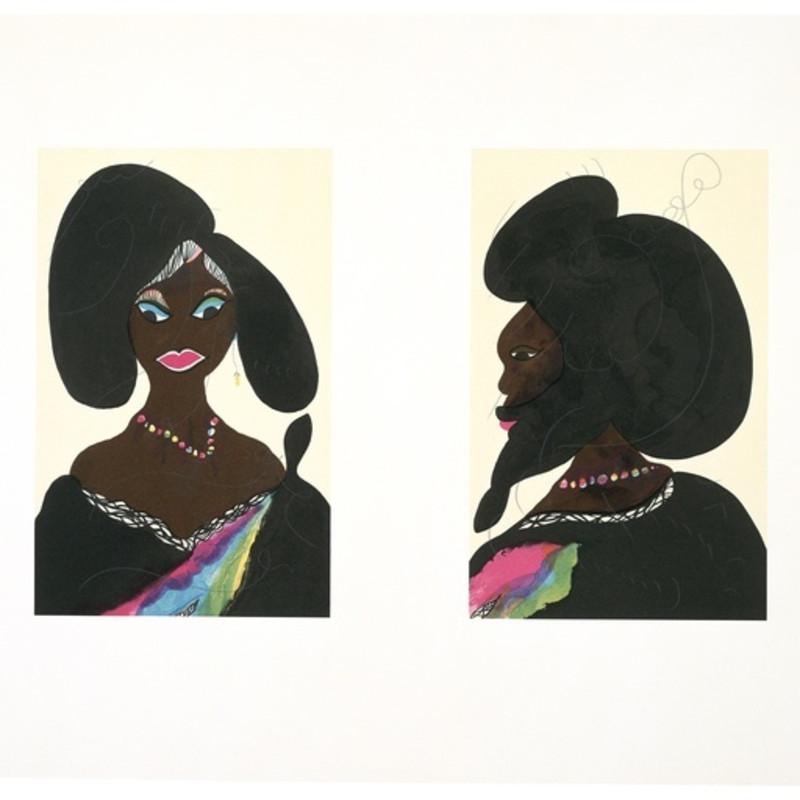 Chris Ofili, Afro Harlem Muses