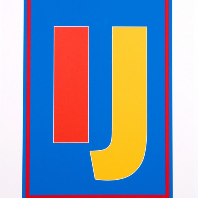 Peter Blake, Dazzle Alphabet - I & J