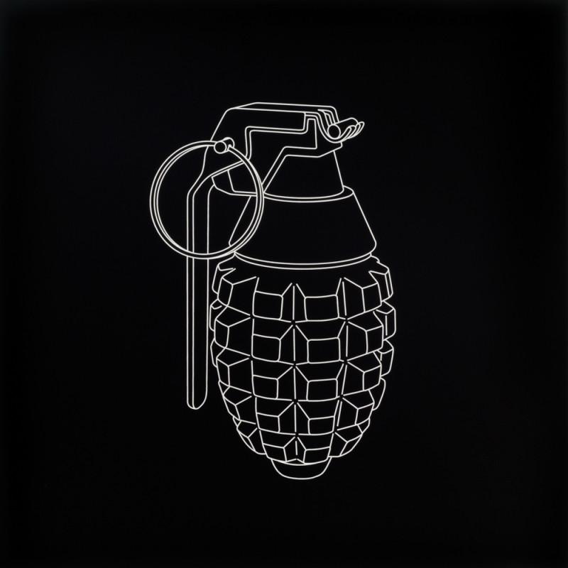Michael Craig-Martin, Hand Grenade , 2017