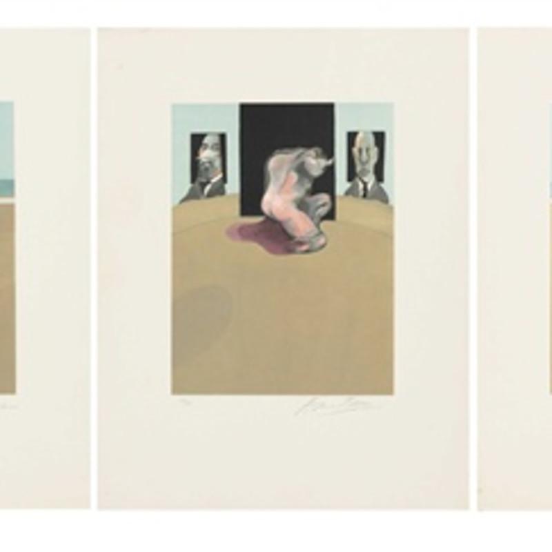 Francis Bacon, Metropolitan Triptych (Large Version), 1981
