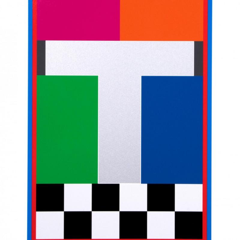 Peter Blake, Dazzle Alphabet - T