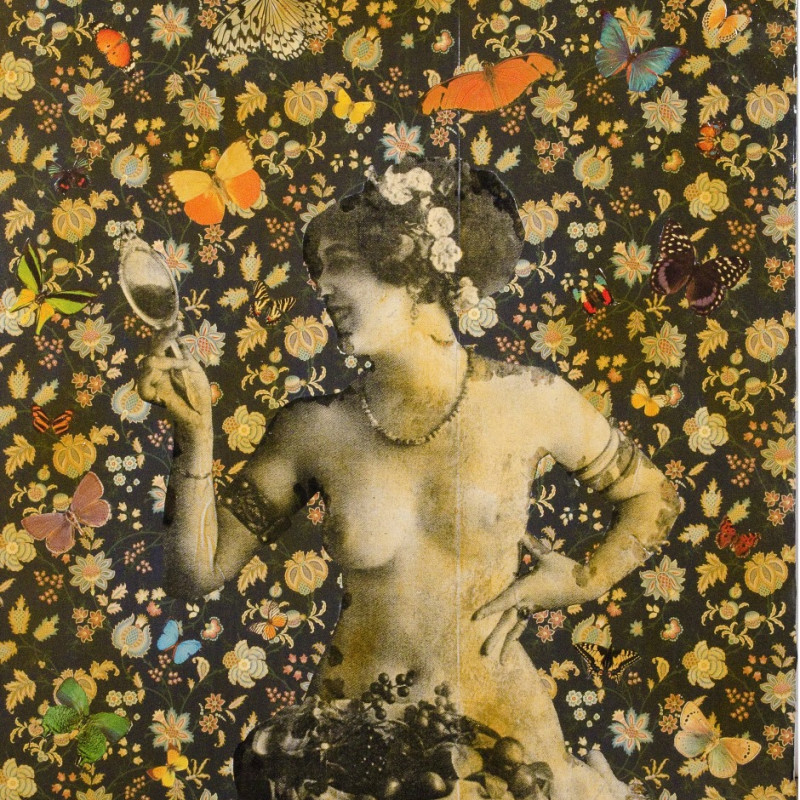 William Blanchard, Through the Looking Glass with Flowers 2015