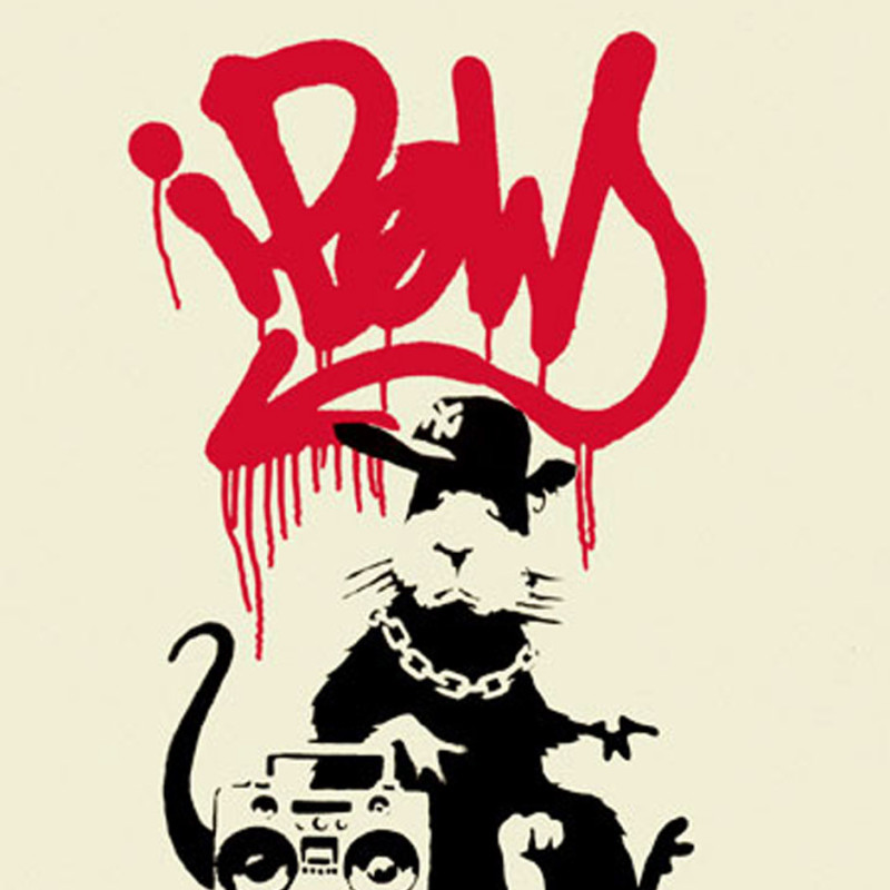 Banksy, Gangsta Rat