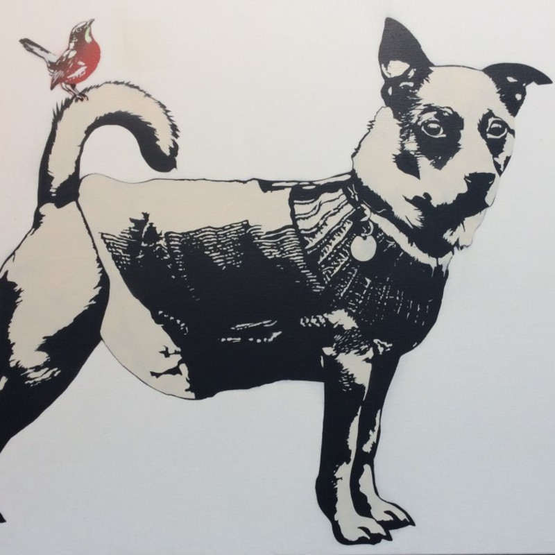 Blek Le Rat, The Dog