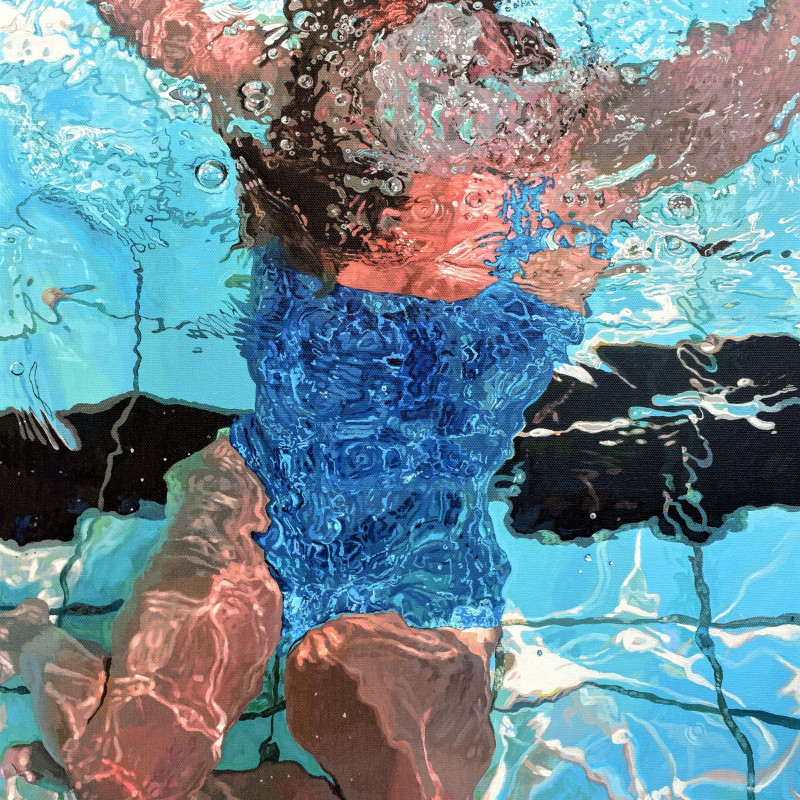 Abi Whitlock, Surface Dive II, 2018