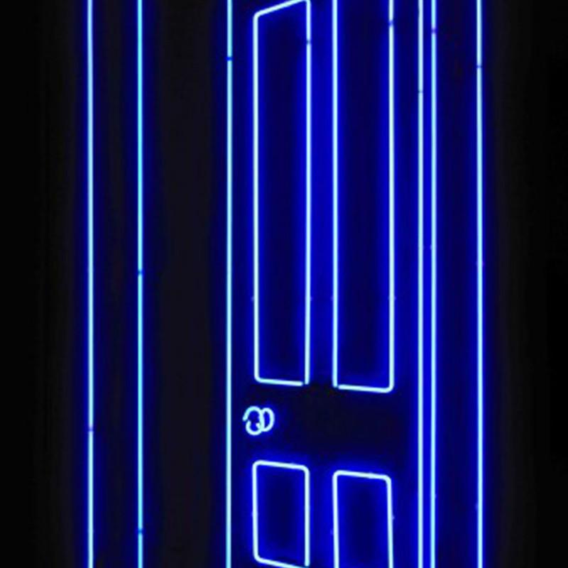 Gavin Turk, Door (Blue)