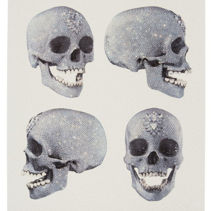 Damien Hirst, For The Love of God - Four Views