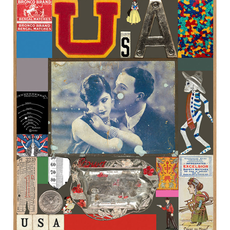 Peter Blake, USA Series - Excelsior