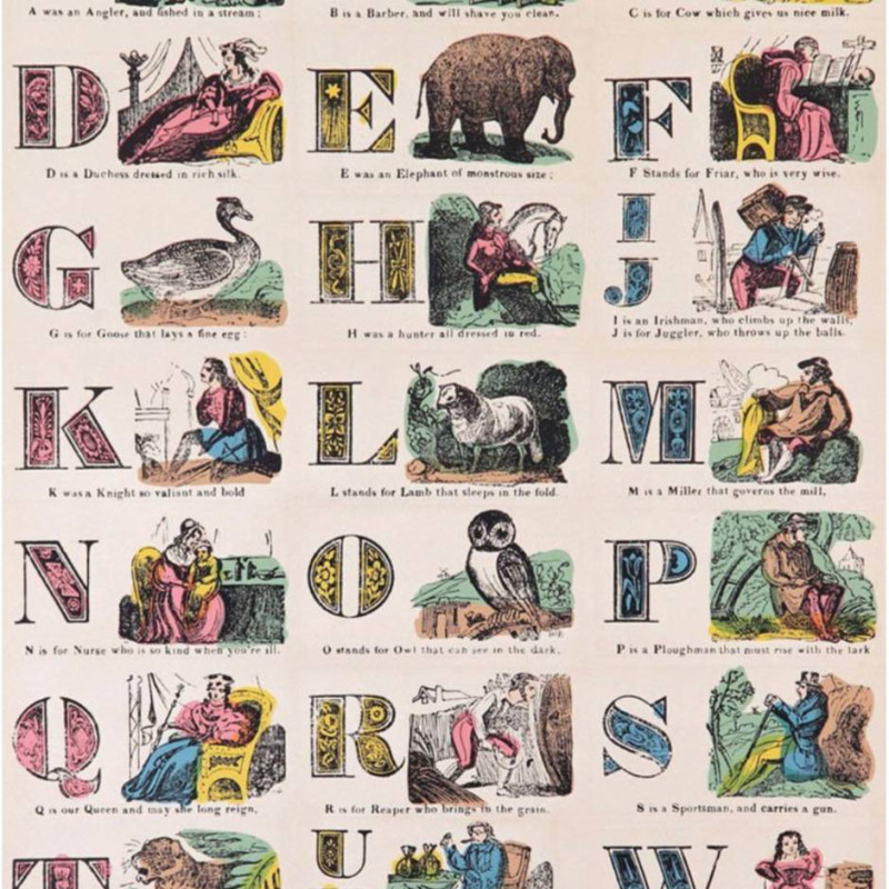 Peter Blake, A is for Alphabet