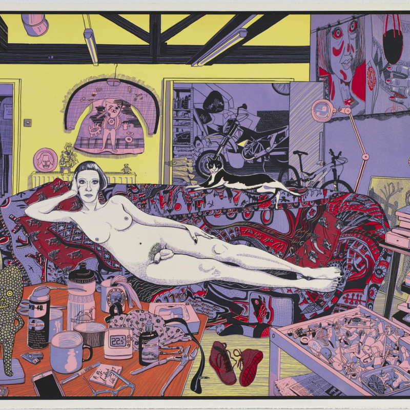 Grayson Perry, Reclining Artist (Small)