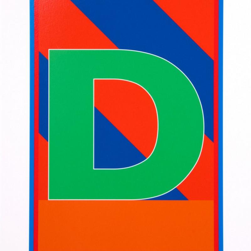 Peter Blake, Dazzle Alphabet - D