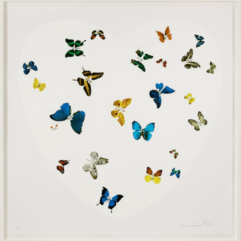 Damien Hirst, Love is All You Need