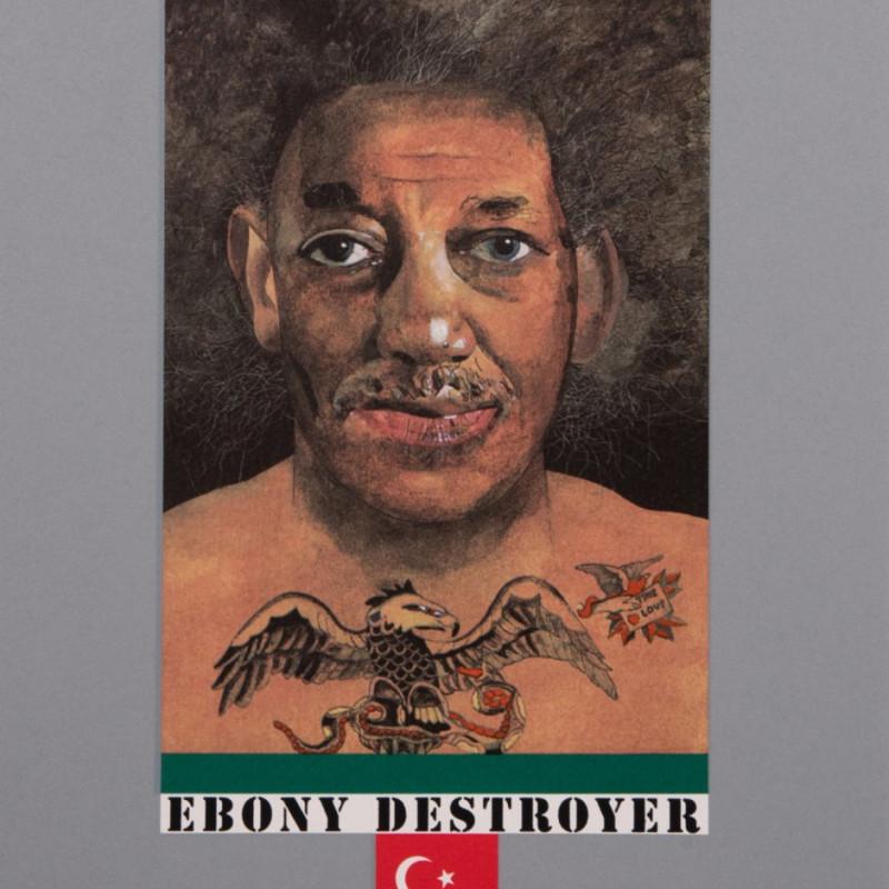 Peter Blake, Ebony Destroyer