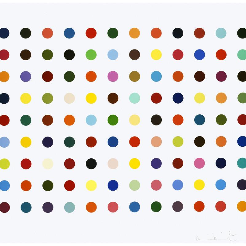 Damien Hirst, Ellipticine, 2007