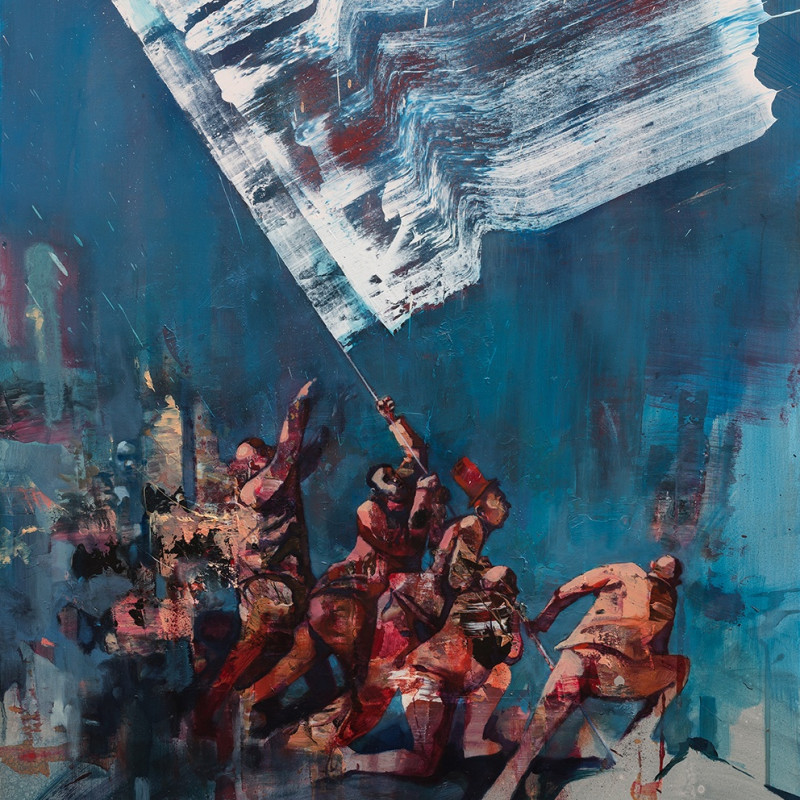 Sepe, The White Flag (Edition), 2018
