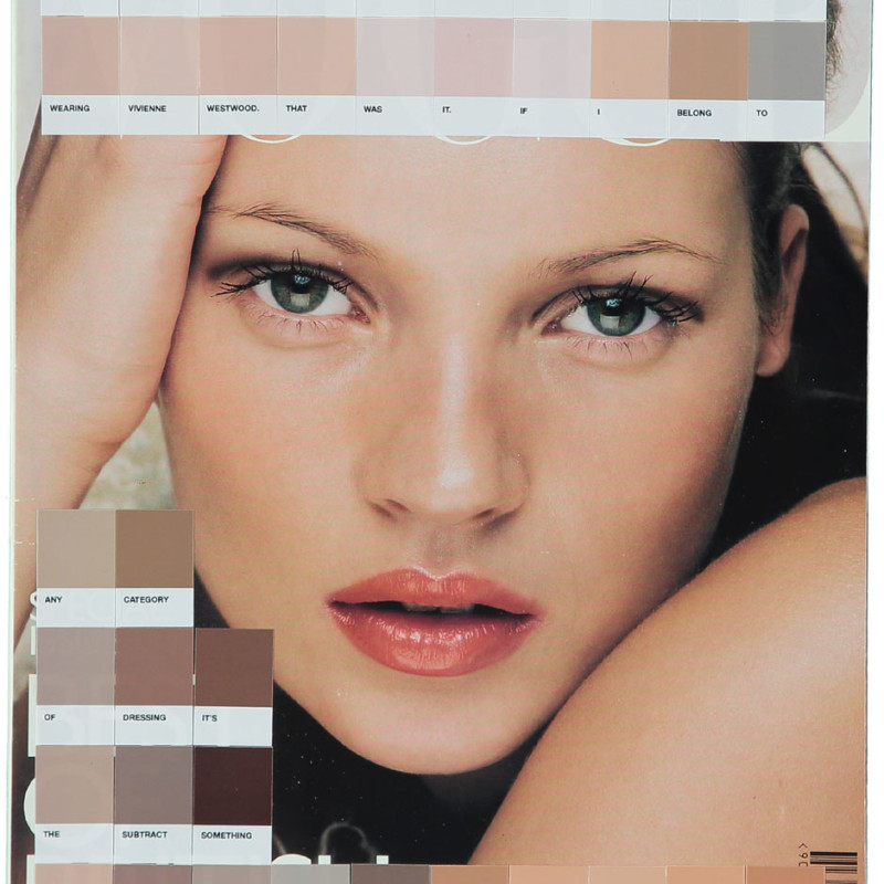 Nick Smith, Kate Moss, Vogue 1998