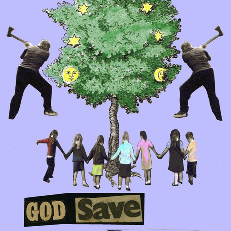Jamie Reid, God Save Our Forests