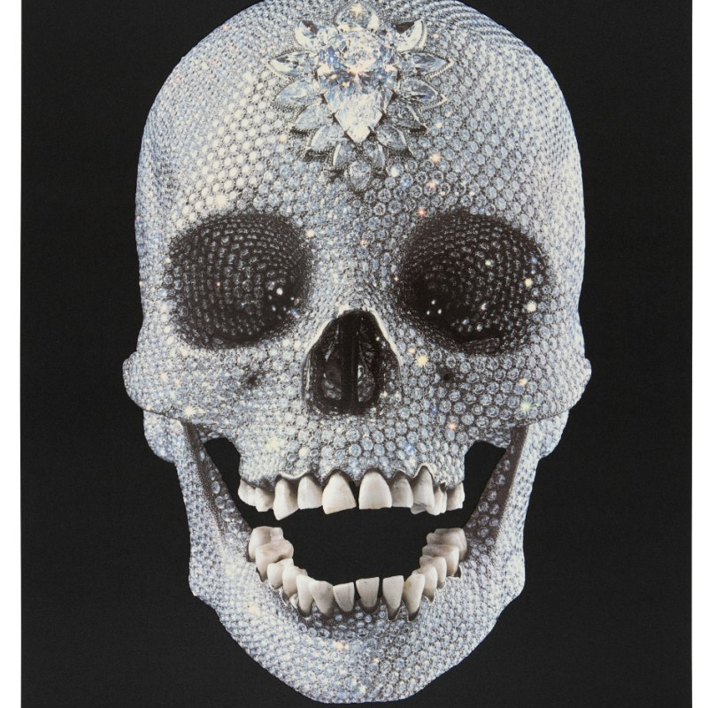 Damien Hirst, For the Love of God- Black- Believe