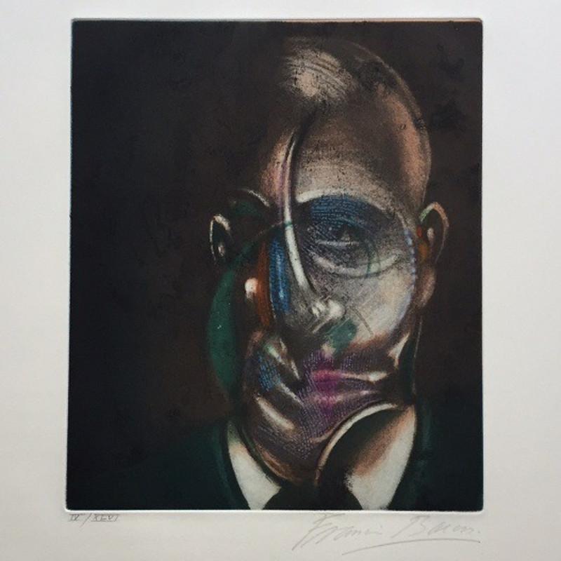 Francis Bacon, Portrait of Michel Leiris 1976 (1978)