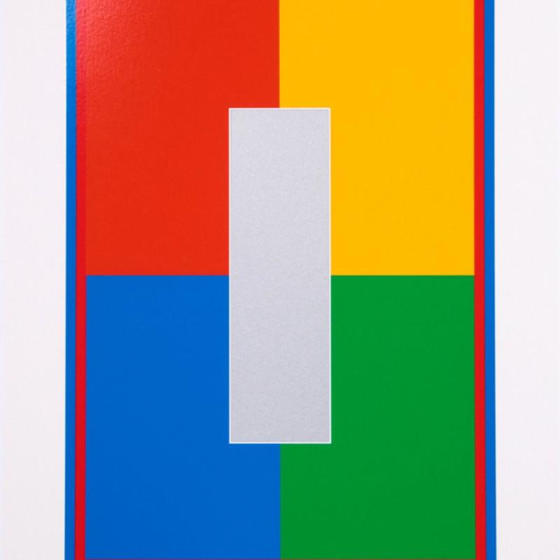 Peter Blake, Dazzle Alphabet - I