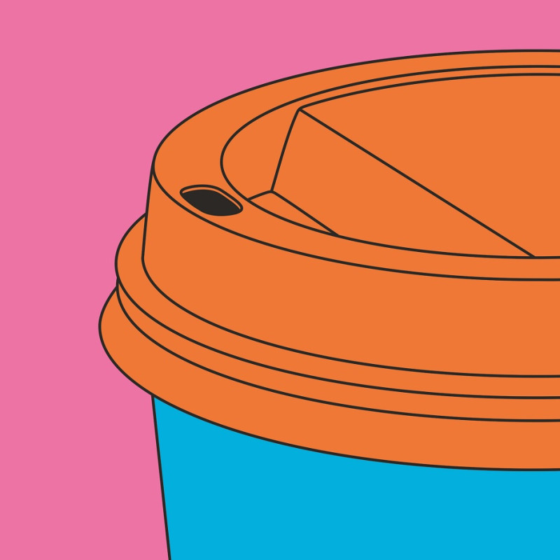Michael Craig-Martin, Coffee Cup