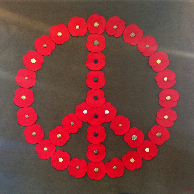 War Boutique, Peace Wreath, 2018