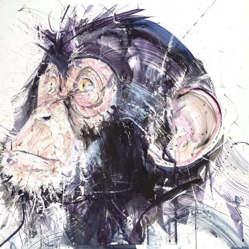 Dave White, Chimp III, 2017